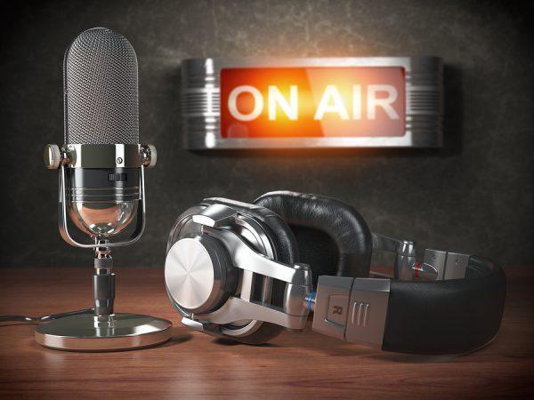bigstock Vintage microphone and headph 206107927 e1579274719588