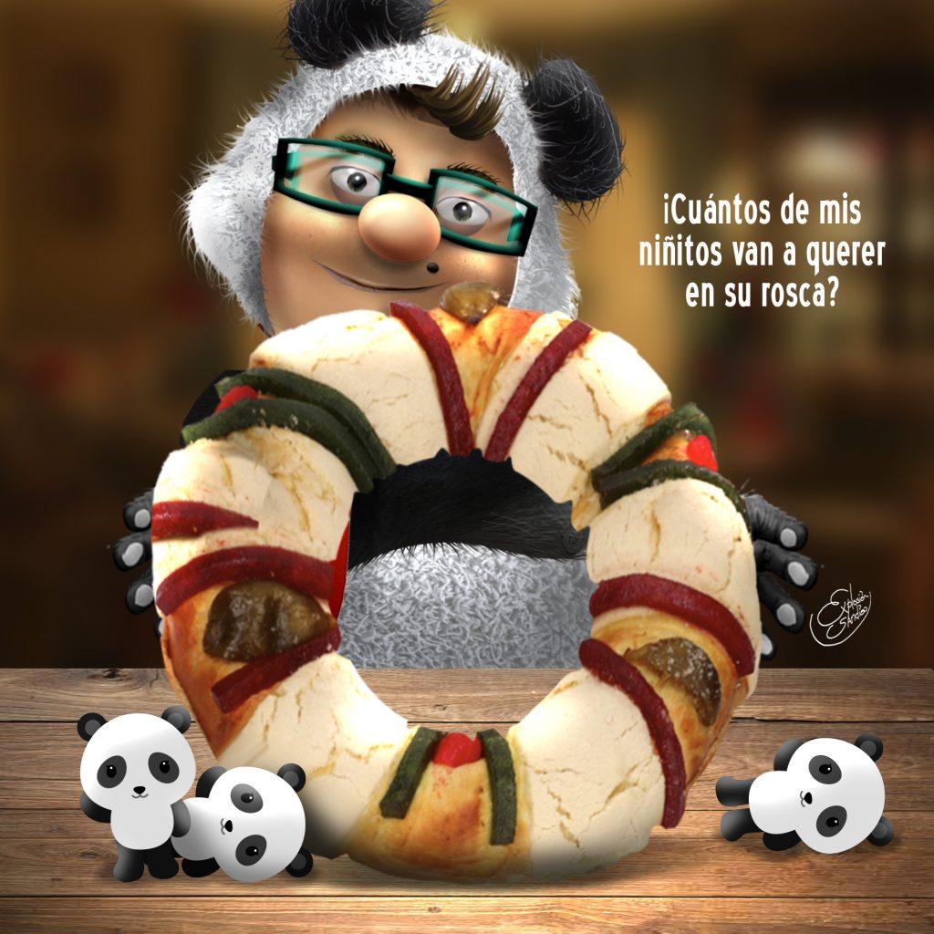 panda rosca