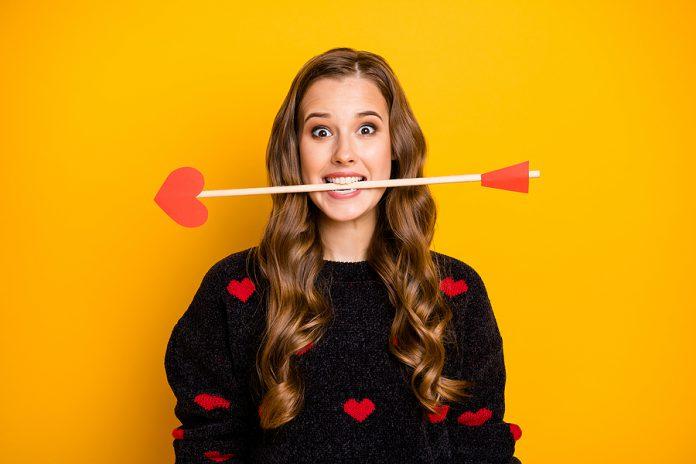 bigstock Photo Of Funny Crazy Lady Work 346583959 696x464 1